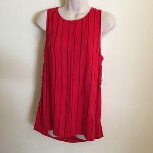Kensie Women's Sleeveless Top Red